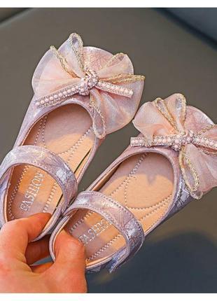 Туфлі нарядні для дівчинки