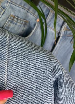 Идеальные джинсы трубы палаццо широкие на высокой посадке wide leg.8 фото