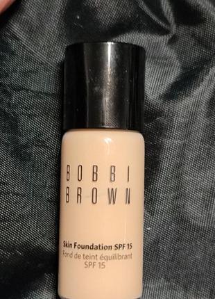 Bobbi brown миниатюра тонального крема тон 2