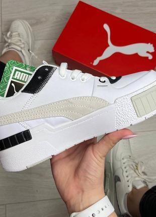Puma cali sport heritage white   кросівки