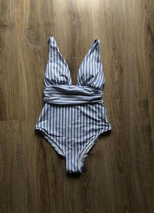 Женский слитный купальник h&m1 фото