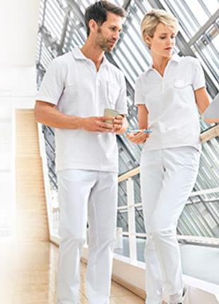 Нежнейшая футболка-поло crane  германия  женская m40-42 евро размер 46-48