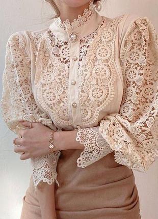 Красивая роскошная блуза s/m/l😍❣️разные цвета3 фото