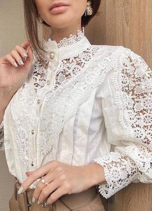 Красивая роскошная блуза s/m/l😍❣️разные цвета4 фото