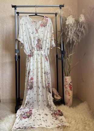 Длинное платье 10р zara