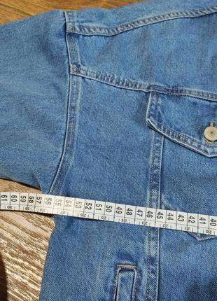Джинсовый пиджак оверсайз10 фото