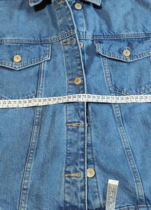 Джинсовый пиджак оверсайз8 фото
