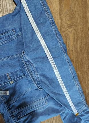 Джинсовый пиджак оверсайз4 фото