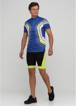 Мужские вело шорты черно-желтые crivit, размер s, м, l, xl4 фото