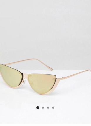 Продам новые очки cat eyes  «лисички» зеркальные