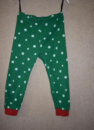 Лосины хлопковые брюки h&m