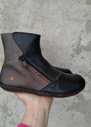 P.36 art (оригинал) кожаные деми ботинки.