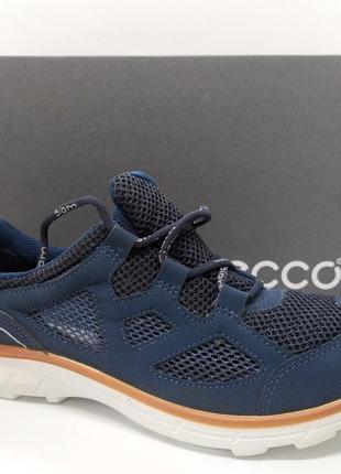 Стильные удобные дышащие кроссовки мокасины ecco biom trail оригинал