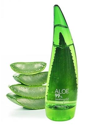 Гель с алое holika holika aloe 99 soothing gel 55 ml