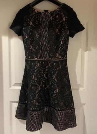 Шикарное платье oasis xs-s (8)