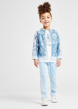 Костюм adidas culture clash branded tracksuit blue