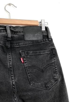 🔥 распродажа 🔥 графитовые темно серые джинсы levis4 фото