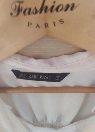 Красивая блузка в бельёвом стиле белая рубашка с майкой4 фото