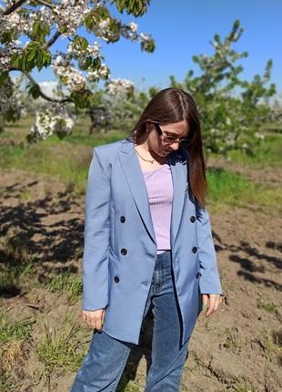 Пиджак zara, прямой покрой