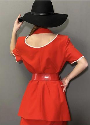 Винтажный брендовый костюм италия стиль ретро фотосессия vintage retro8 фото