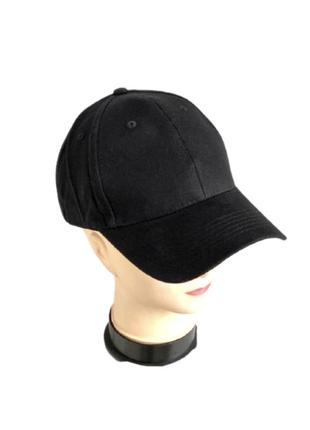 Кепка черная бейсболка блайзер унисекс cap snapback тракер
