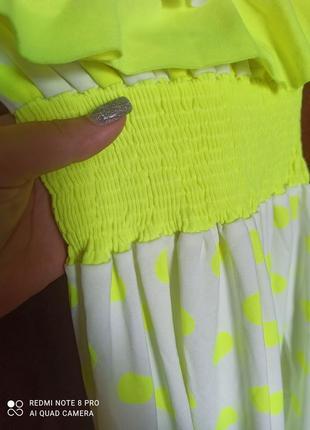 Безумно яркий летний сарафан платье