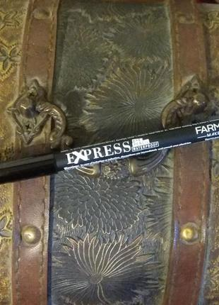 Водостойкий карандаш для глаз exspress farmasi черный