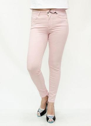 54-56p нежные джинсы скинни