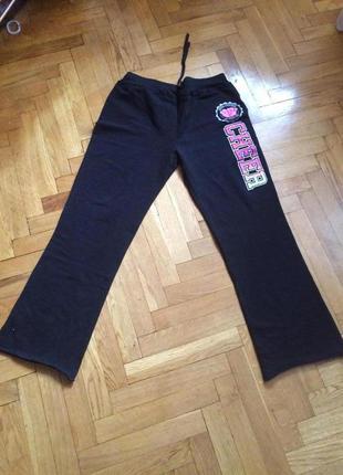 Широкие спортивные штаны,коттоновые,без начеса,arizona