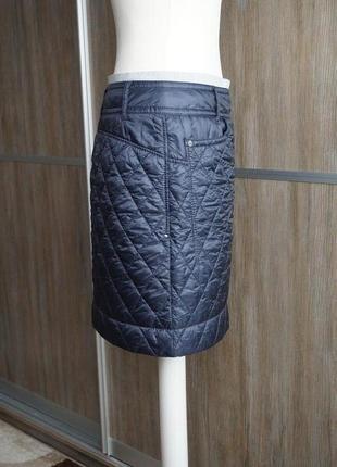 Marc cain болоневая стеганая юбка. размер №24 фото