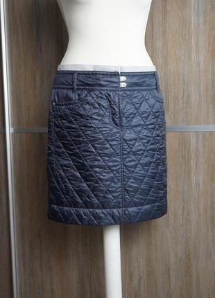 Marc cain болоневая стеганая юбка. размер №22 фото