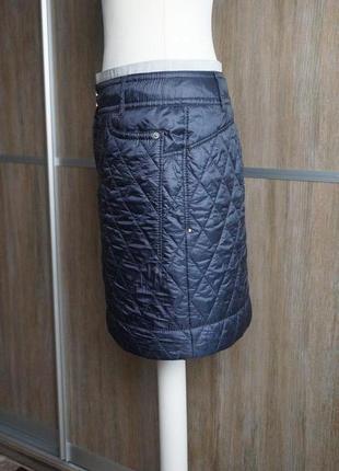 Marc cain болоневая стеганая юбка. размер №26 фото