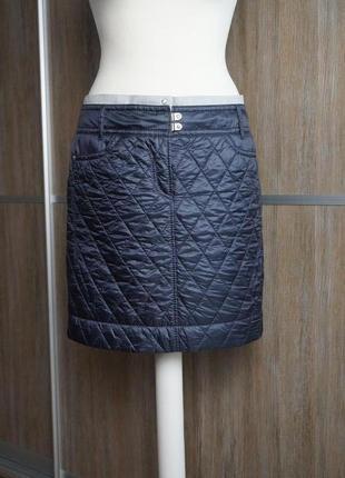 Marc cain болоневая стеганая юбка. размер №23 фото