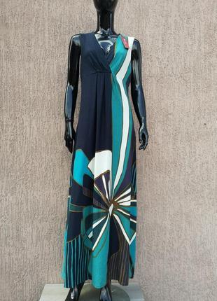 Нова довга сукня плаття платье макси вискозное monsoon