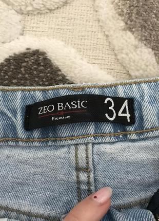 Джинсовая юбочка с жемчужинками8 фото