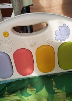 Розвиваючий коврик з піаніно, коврик для развития  з пианино