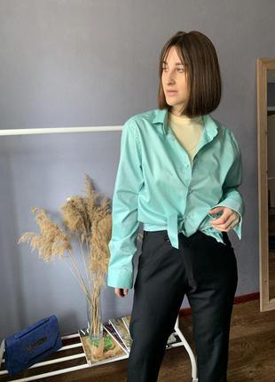 Трендовая рубашка оверсайз от next2 фото