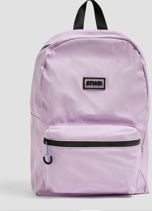 Лиловый рюкзак от pull&bear