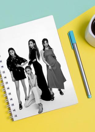 """Скетчбук (sketchbook) для рисования с принтом """"aespa"""""""