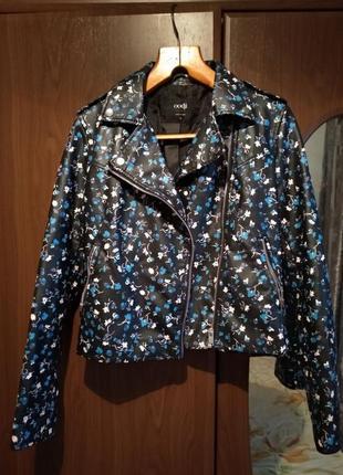 Крутая куртка кожанка косуха2 фото