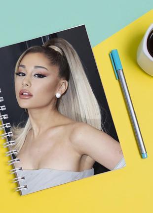 """Скетчбук (sketchbook) для рисования с принтом """"ariana grande-ариана гранде"""""""