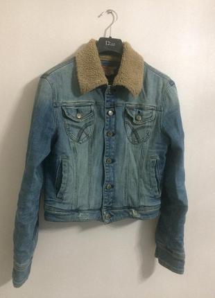 Джинсовая куртка (утеплённая) 🍁🍂🌼