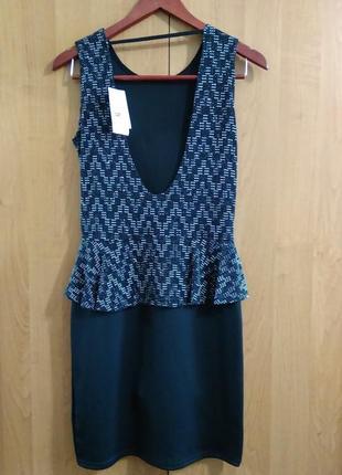 Вечернее платье quiz открытая спина коктельное2 фото