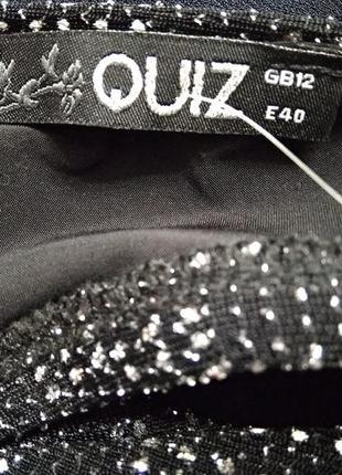 Вечернее платье quiz открытая спина коктельное5 фото