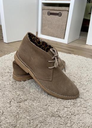 Стильні черевички дезерти!