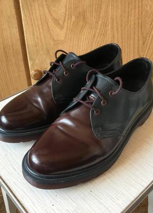 Туфли ботинки dr martens