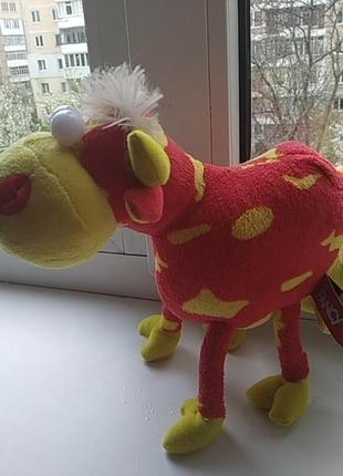 М'яка іграшка коровка