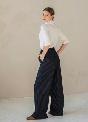 Льняные брюки zara брюки льняные брюки лен штаны лен