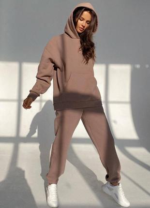 Спортивный костюм женский оверсайз 👍тренд сезона👍р.48-52