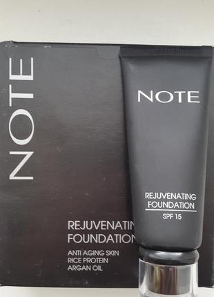 Увлажняющий тональный крем note rejuvenating foundation